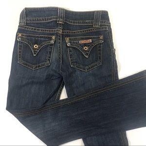 Hudson 2 Short Baby Bootcut Jeans Dark Wash Boot
